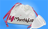 MenstrualCup - MonthlyCup - Size 1 - Bag and Cup - Mini