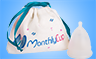 MenstrualCup - MonthlyCup - Size 2 - Bag and Cup - Mini